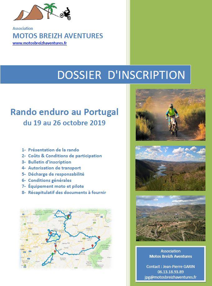 dossier rando Portugal 2019